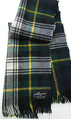 Harpers Classics Green colour plaids 100 % wool made in Scotland