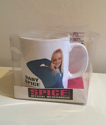 Vintage Spice Girls Baby Official Mug 1997 Collectors 1990s Boxed