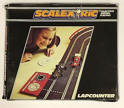 SCALEXTRIC LAPCOUNTER C277 LAP COUNTER BOXED with SPEED COMPUTER & INSTRUCTIONS