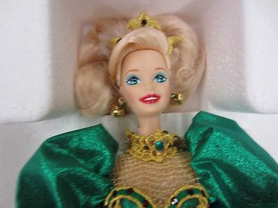 1995 Mattel HOLIDAY JEWEL Porcelain Barbie Limited Edition Serial #48507