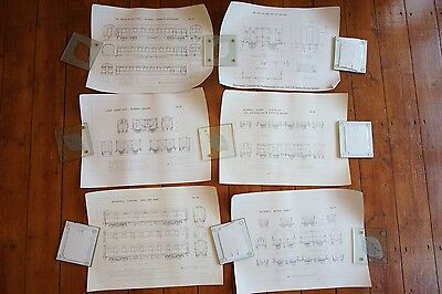 Bluebell Railway LSWR Carriage Wagon Drawings Diagrams x6