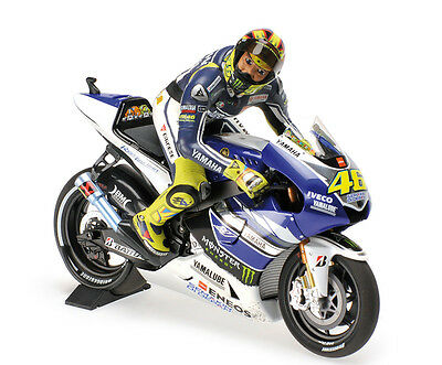 Yamaha YZR-M1 2013 Moto GP winner ASSEN DIRTY LOOK with ROSSI Figure 1:12