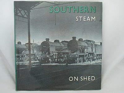 Southern Steam On Shed. British Railways Southern Region