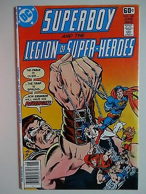 Superboy and the Legion of Super-Heroes #240  Grimbor  1st Power Boy  Mike Grell