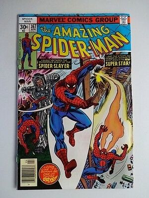 Amazing Spider-Man #167     1st Appearance of Will O' the Wisp
