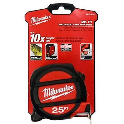 25' Magnetic Tape Measure Milwaukee Tape Measures and Tape Rules 48-22-5125