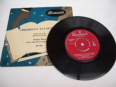 """7"""" Record Children's Favourites, Danny Kaye, Tubby The Tuba The Little Fiddle"""