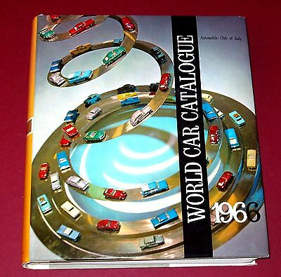 1966 WORLD CAR CATALOGUE - English text - Hardbound with Dust Jacket - 776 pages