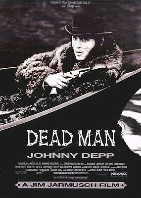 DEAD MAN ~ BOAT 27x40 MOVIE POSTER Johnny Depp Jim Jarmusch NEW/ROLLED!