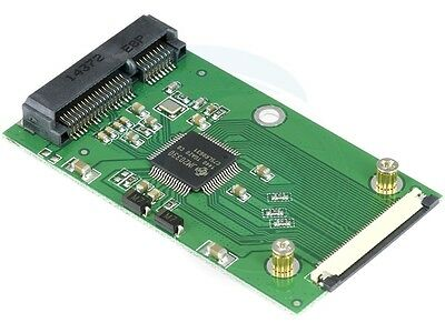 mSATA SSD to 40 Pin ZIF Adapter Card for Toshiba or Hitachi ZIF Drive