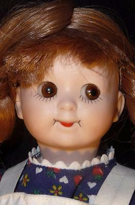 Sweet Googly Eye Bisque Doll Reproduction Of An Antique Doll Raggedy Ann
