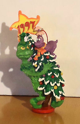 1997 Grinch and Whozit Ornament Very Nice Condition w/ Box