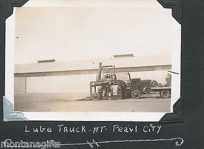 1945 Navy Lube truck at Pearl City,  Pearl Harbor Hawaii Photo