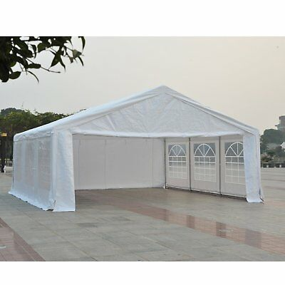 20 x 20' Deluxe Wedding Party Tent Outdoor Event Waterproof w/ Removable Walls