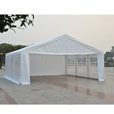 HEAVY DUTY 20 x 20' Large Carport Garage Wedding Party Event Tent Patio Gazebo