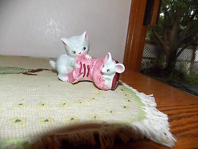 Py Cat and Mouse Shaker Japan Vintage