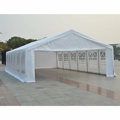 39 x 20ft Heavy-duty Party Shade Tent Outdoor Event Canopy Gazebo Removable Wall