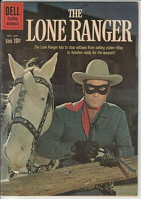 Lone Ranger #136 The strict VF/NM 9.0 High-Grade Appearance - Young Hawk
