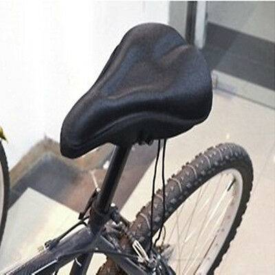 3D Sport Cycling Bicycle Bikes Gel Silicone Pad Seat Saddle Cover Soft Cushion