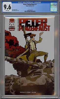 Peter Panzerfaust #1 CGC 9.6 NM+ Wp Image Comics 2012 Rare First Print War Comic