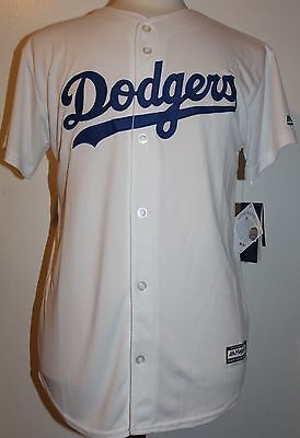 Los Angeles Dodgers New  ADULT XL  Majestic Home Jersey  White BNWT