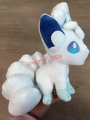 "New Arrival 2017 Pokemon Alola Vulpix stuffed Plush Doll 8"" Gifts for kids HOT"