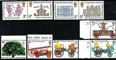 Stamps  From Great Britain 1971,full Sets.