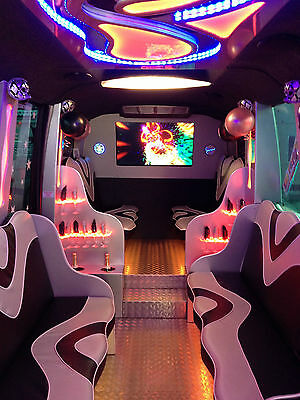 Limo Hire Party Bus Limousine Herts Essex Prom Wedding Birthday Hen Night Stag
