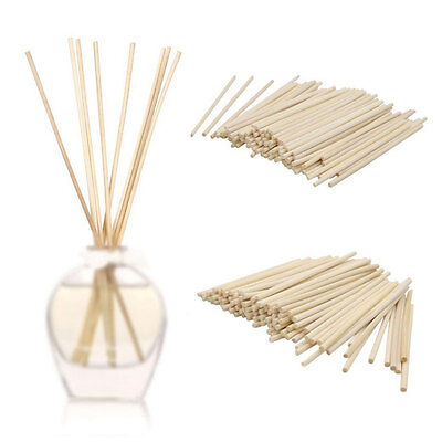 100 Pcs Rattan Reed Sticks Fragrance Oil Diffuser Replacement Refill Bar
