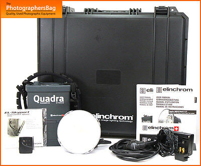 Elinchrom Quadra Ranger RX Hybrid Kit with 1x S Head Kit + Case +  Free UK Post