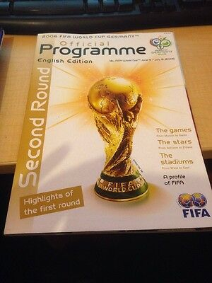 2006 Fifa World Cup Germany Official Programme
