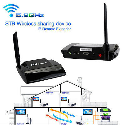 5.8G Wireless 300M HDMI 1080P in AV Sender TV Transmitter Receiver Audio Video