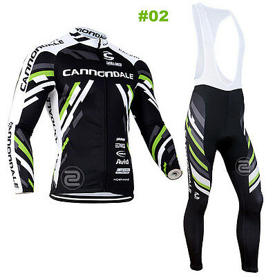 HOT Style Cycling Jersey Trouser Bib Long Pants Long Set Bicycle Wear Suit S-3XL