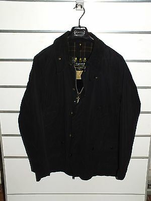 barbour bedale blu  jacket +thornproof waxed cotton (b1)  c46-117 xl