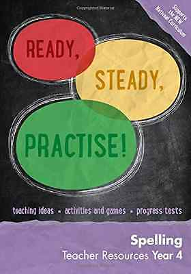 Year 4 Spelling Teacher Resources: English KS2 (Ready,  - Paperback NEW Keen Kit