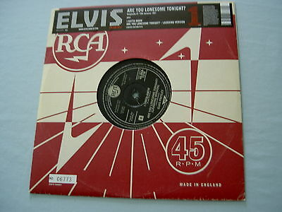 "ELVIS PRESLEY Are You Lonesome Tonight? 2005 EU numbered 10"" vinyl single"