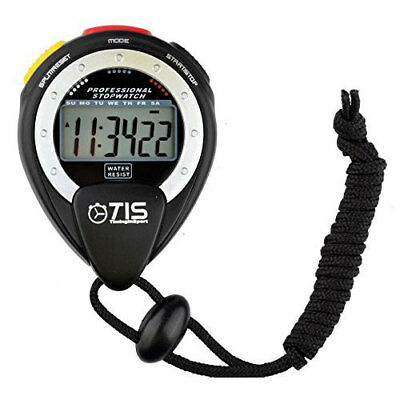 TIS Pro 025 Stopwatch - Large Scale Display - Water and Shock Resistant rrp£16