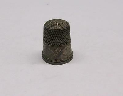 Vintage Sterling Silver #12 Thimble ~ 5.7 grams ~ 6-A829
