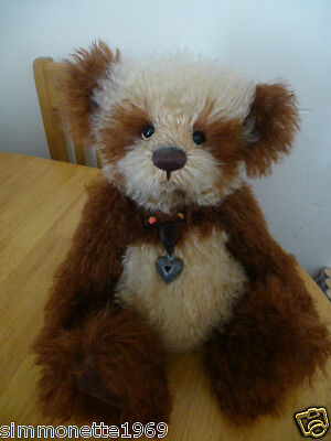Charlie Bears Isabelle Lee 2009 Wookey SIGNED Rare & Hard to Find