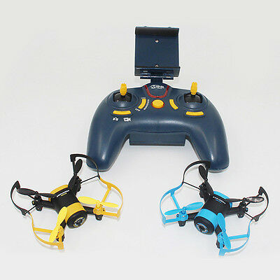 JXD 512W 6 Achse 2,4 GHz Mini UFO RC Quadcopter WiFi Real-time Pocket FPV Drone,