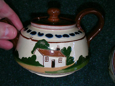 "Hand Painted Antique, ""aller Vale"", Tea Pot, Rare And Excellent Condition"