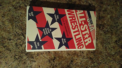All-Star wrestling 1985 VHS RARE OOP wwe,wwf,wcw.nwa