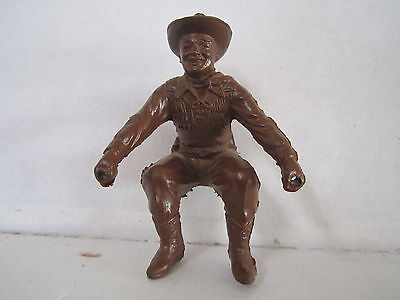 "ONE 1960s VINTAGE MARX WAGON DRIVER- 3 1/4"" TALL"