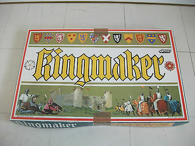 Rare Vintage Gibsons Games Toys Kingmaker Board Game ~ Complete