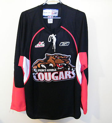 2015 - Prince George Cougars Signed  Hockey Jersey .