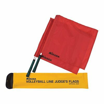 Mikasa Volleyball Line Judge's Referee Flags Official Size Two Flags With Case