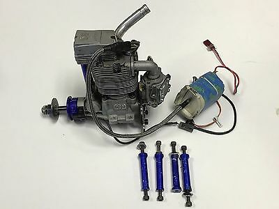 Really Nice Ngh 38 38Cc Compact Four Stroke Fs Gas Gasoline Airplane Engine !