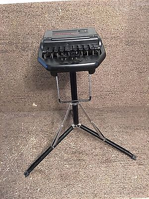 AS-IS UNTESTED Stentura 400 SRT Electric Stenographer with Stand