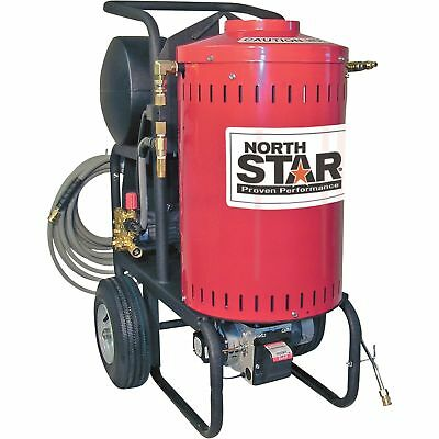 NorthStar Electric Wet Steam & Hot Water Pressure Washer- 1700 PSI 1.5 GPM 120V
