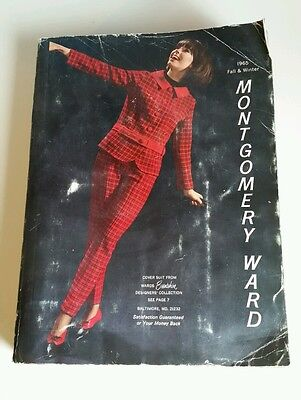 1965 FALL & WINTER MONTGOMERY WARD CATALOG 1441 PAGES Fashion Lingerie Wares